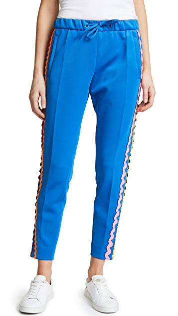 Mira Mikati Wave Ribbon Jogger Pants