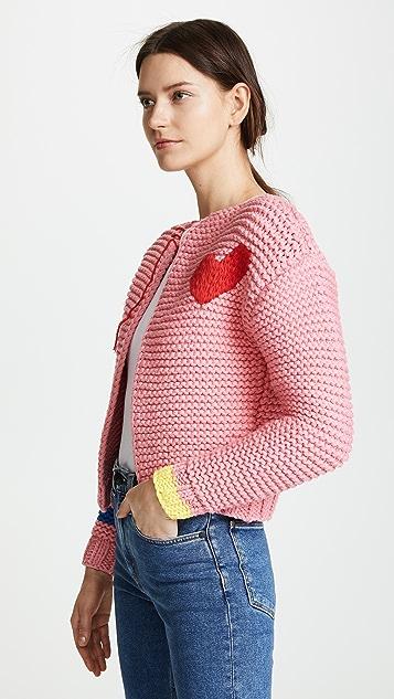 Mira Mikati Think Less Hand Knit Cardigan