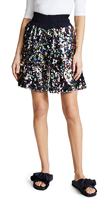 Mira Mikati Sequin Boxing Shorts