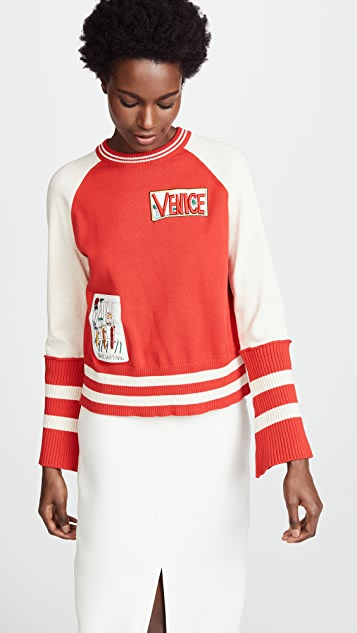 Mira Mikati Varsity Sweater