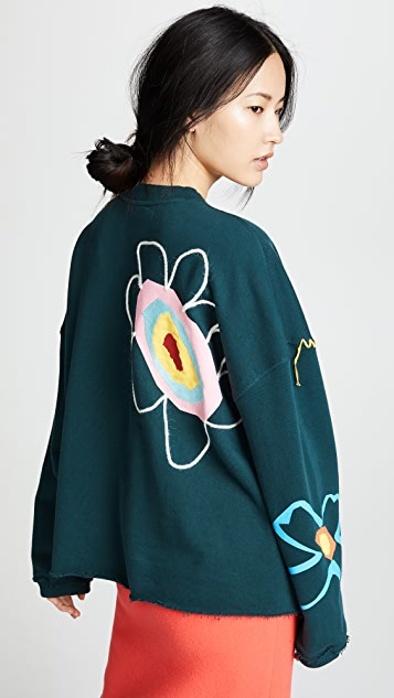 Mira Mikati Loop Back Sweater