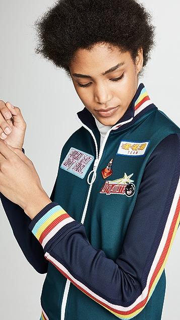 Mira Mikati Scuba Jersey Tracksuit Top
