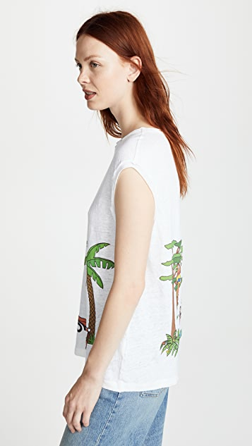 Mira Mikati Rainforest Monkey Tank Top