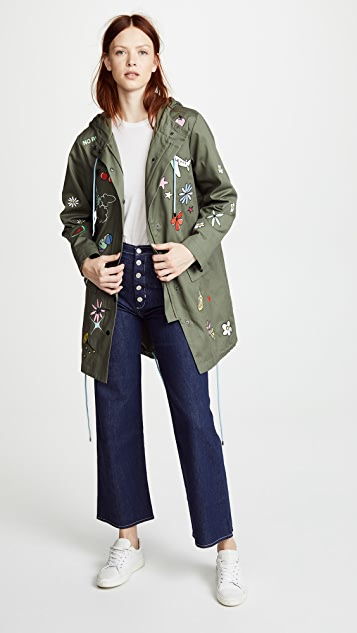 Mira Mikati Embroidered Icon Parka