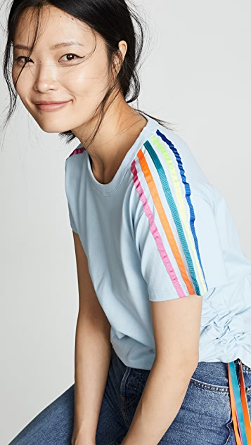 Mira Mikati Side Stripe Tee