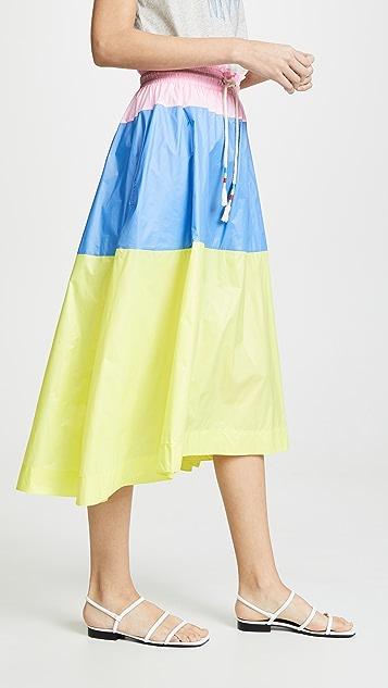Mira Mikati Colorblock Skirt