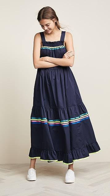 Mira Mikati Tie Shoulder Dress