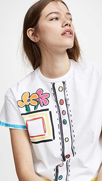 Mira Mikati Graphic Print T-Shirt