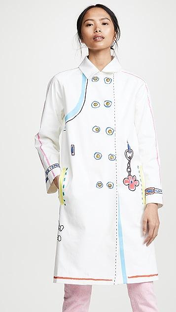Mira Mikati Coats Scribble Coat