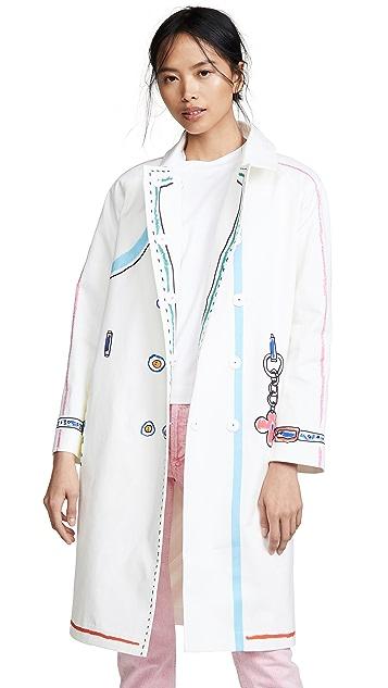 Mira Mikati Scribble Coat