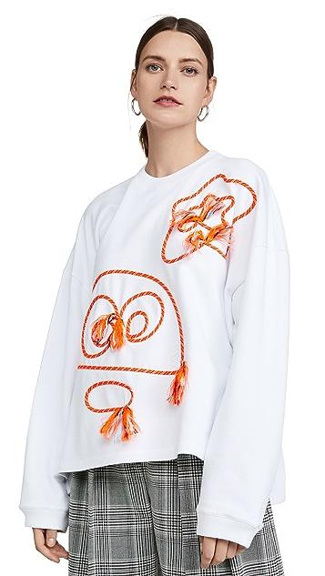 Mira Mikati Monster Doodle Sweatshirt