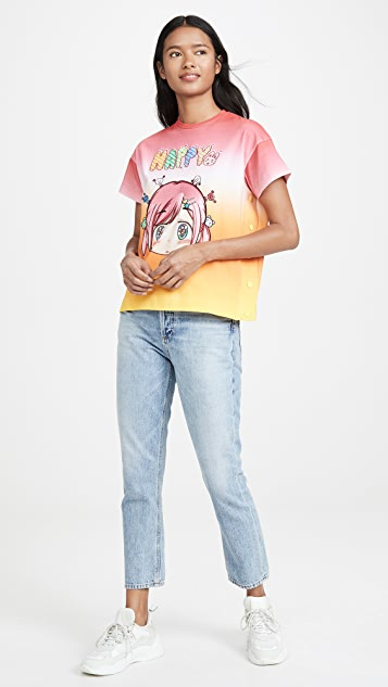 Mira Mikati x Mr Happy Ombre Tee