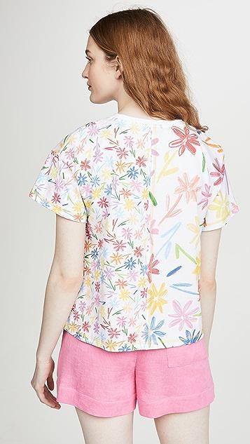 Mira Mikati Floral Ohh Lala Print T-Shirt