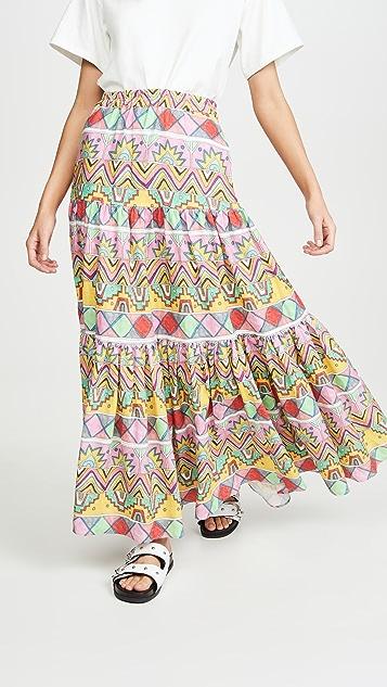Mira Mikati Maxi Three Panel Skirt
