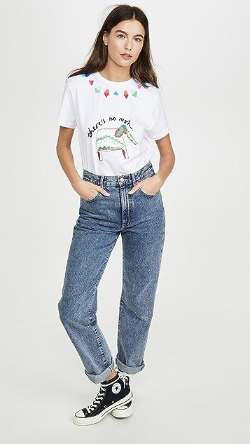 Mira Mikati 大象刺绣 T 恤