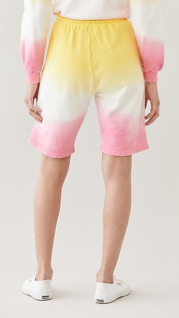 Mira Mikati Dip Dye Jogging Shorts