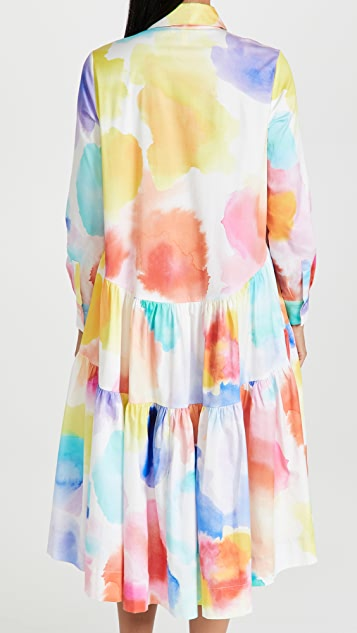 Mira Mikati Long Sleeve Dress