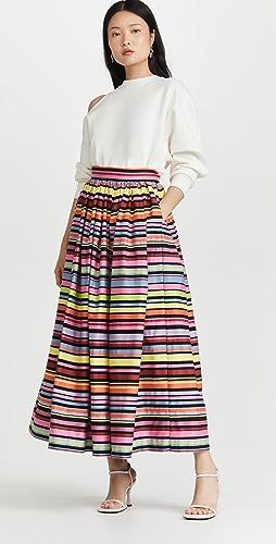 Mira Mikati - Striped Skirt