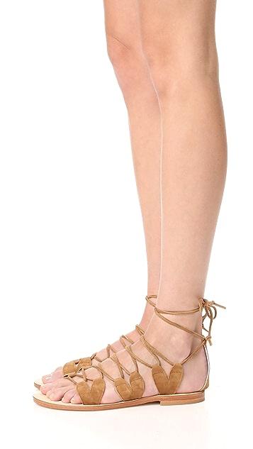 Cornetti Innamorati Wrap Sandals
