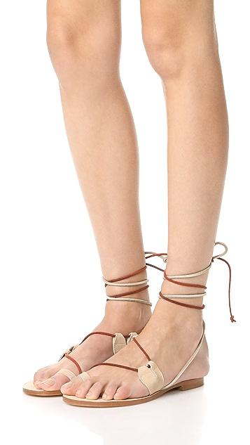 Cornetti Scilla Wrap Sandals