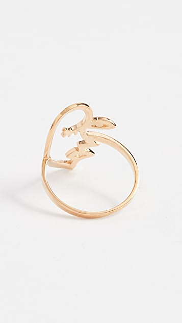 Contempoh Face Profile Ring