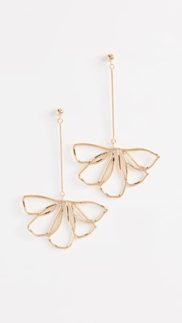 Contempoh Petal Drop Earrings