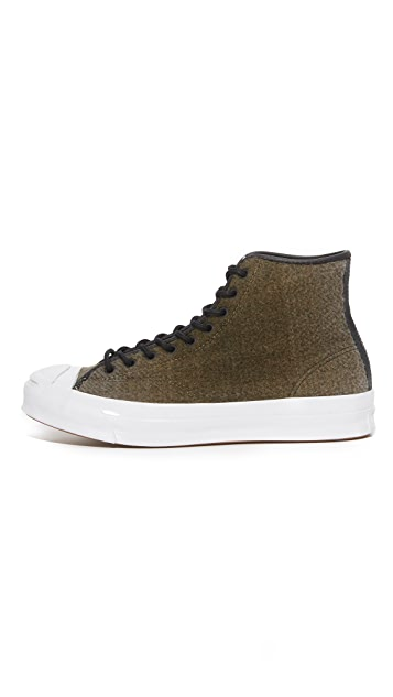 Converse Jack Purcell Woolrich Signature High Top Sneakers