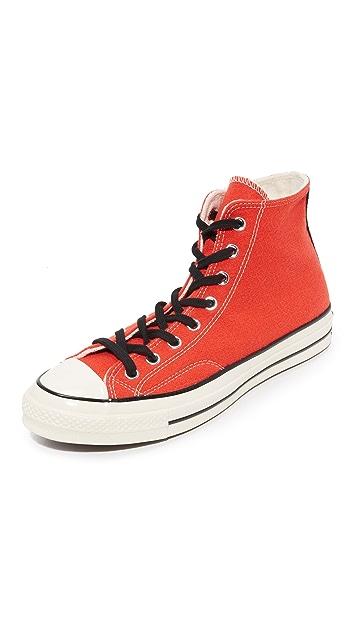 Converse Chuck Taylor 70s Varsity Wool Hi Top Sneakers