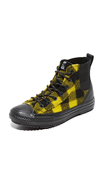 62fd335876c6 Converse Chuck Taylor x Woolrich All Star Chelsea High Top Sneakers ...