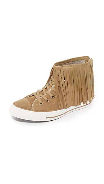 063fd104ce0d Converse Chuck Taylor Fringe High Top Sneakers