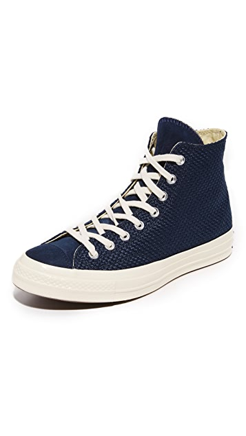 67bd32366e8f Converse Chuck Taylor All Star  70s Woven High Top Sneakers
