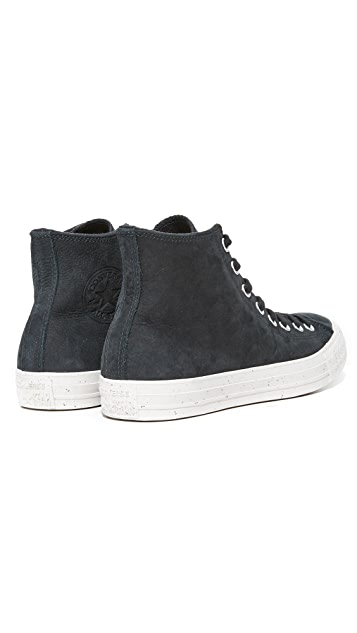 Converse Chuck Taylor All Star High Top Nubuck Sneakers