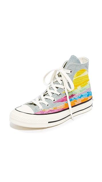 44c2005d96e7 Converse Chuck Taylor All Star x Mara Hoffman  70s High Top Sneakers ...