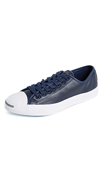 ab5439cab4d2 Converse Jack Purcell Jack Leather Sneakers