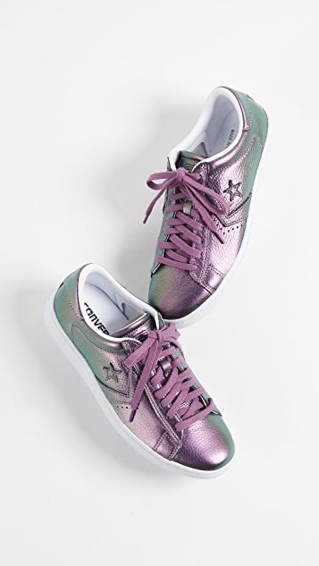 a0517e20a24 ... Converse Pro Leather LP Iridescent Ox Sneakers ...