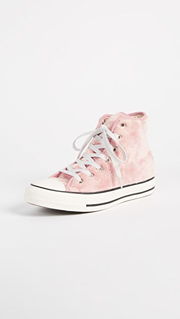 Converse Chuck Taylor All Star High Sherpa Sneakers  3cce68783