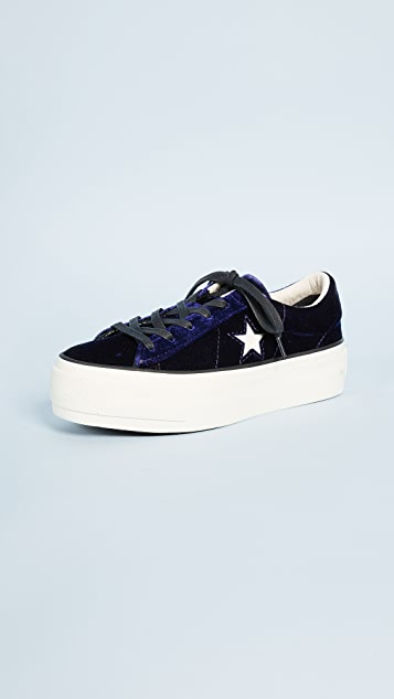Converse One Star Platform Ox Sneakers