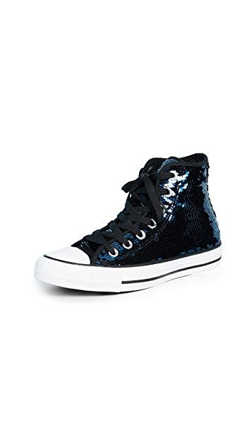 Converse Chuck Taylor All Star Sequins High Top Sneakers