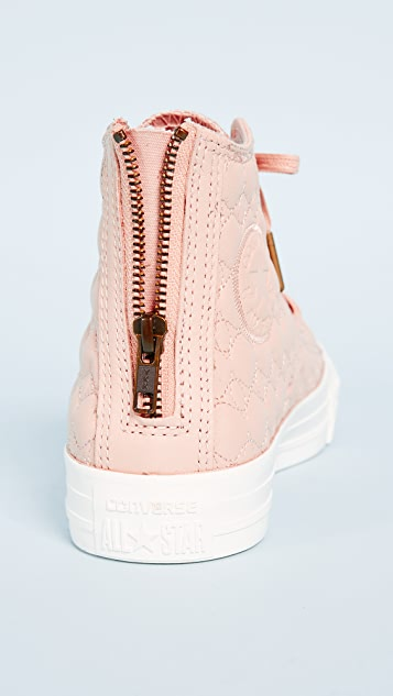 Chuck Taylor All Star Back Zip High Top Sneakers