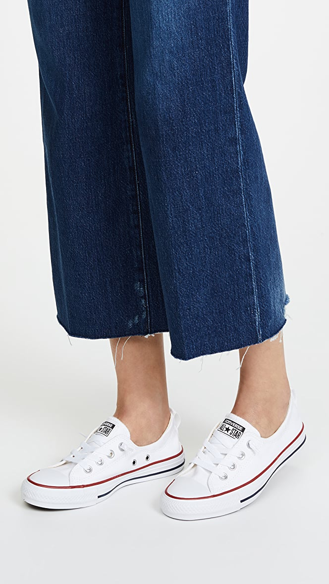 basket converse shoreline slip on