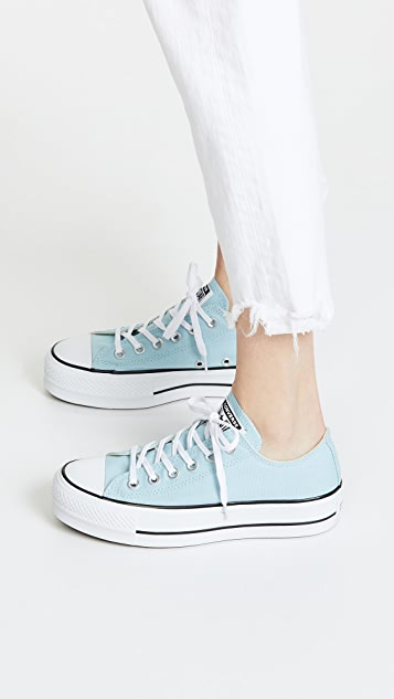converse chuck taylor lift ox canvas