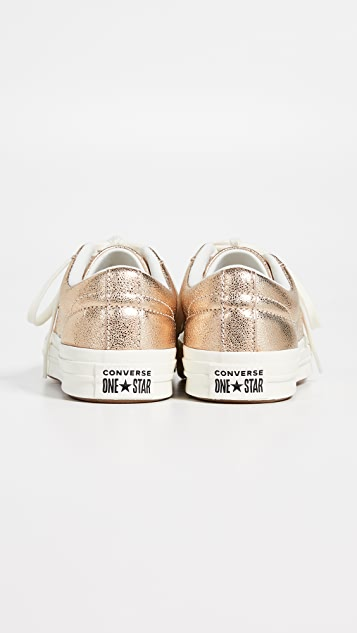 Converse One Star OX Metallic Sneakers