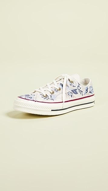 091a84c0e053e5 Converse Chuck 70s Oxford Parkway Floral Sneakers