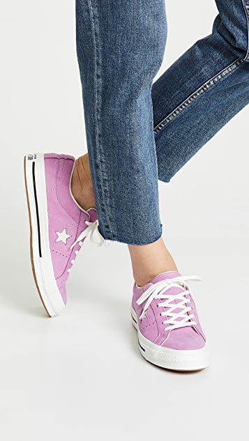 Converse One Star Ox Precious Metallic Sneakers