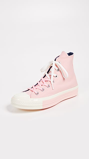 7bc8c21331482 Chuck 70s High Top Super Colorblock Sneakers