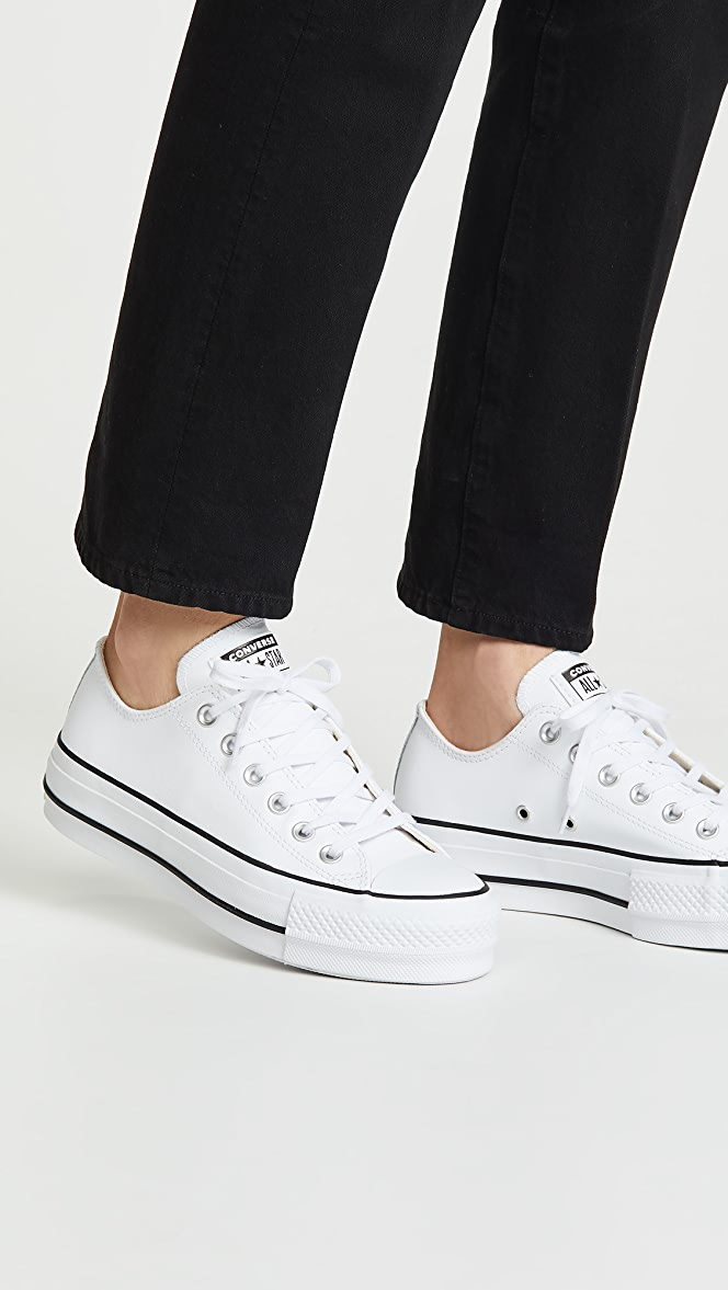 Converse Chuck All Star Lift Clean Ox Sneakers Shopbop