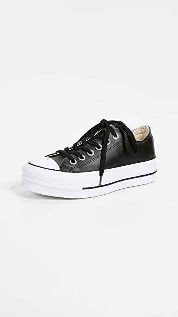 a6f25484c38 Converse Chuck All Star Lift Clean Ox Sneakers