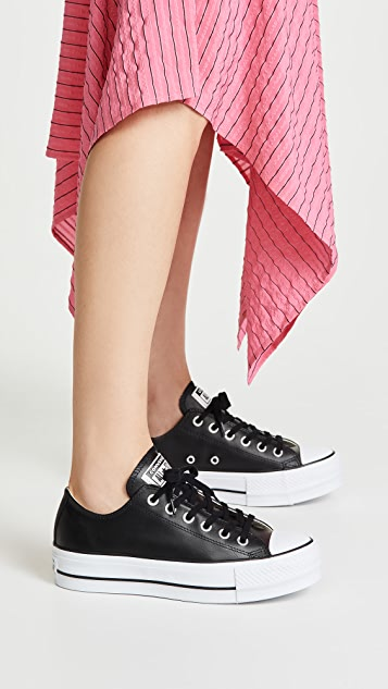 Chuck All Star Lift Clean Ox Sneakers