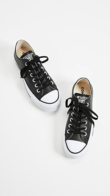 Converse Chuck All Star Lift Clean Ox 运动鞋