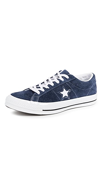 a73ce416afc7 Converse One Star Suede Low Top Sneakers